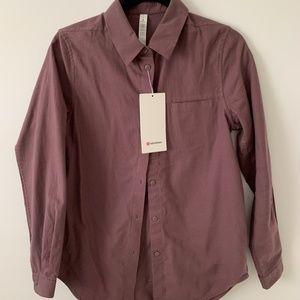 LuLu Lemon Flannel Shirt
